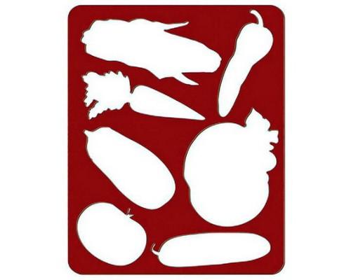 Трафарет Овощи