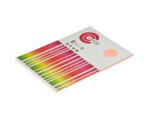 Бумага офисная A4 50 листов COLOR CODE NEON пл.75гр/м2, розовая БЕЗ СКИДКИ
