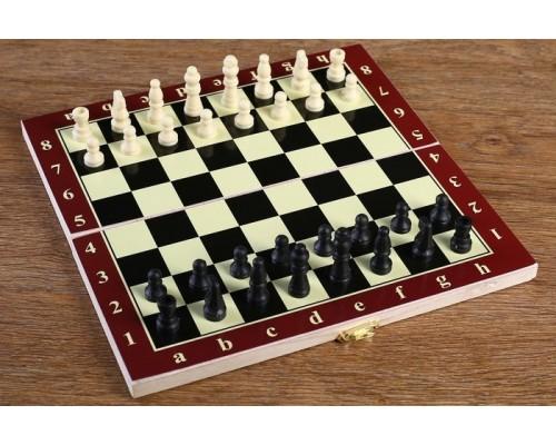 Шахматы дерево 24х24 см микс 578799