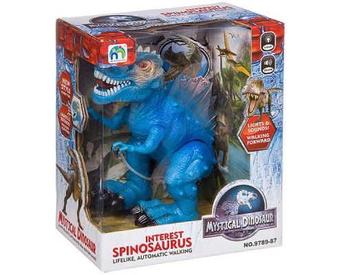 Динозавр на батарейках озвуч. 24х21х12 см, 9789-87.