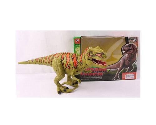 Динозавр на батарейках озвуч. 26х18х12 см, 1061.